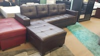 Air leather brand new sectional  Toronto, M1P 2L6