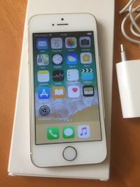 Iphone 5S vit og gull Sandnes, 4308