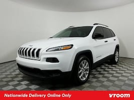 2017 Jeep Cherokee Bright White Clearcoat hatchback