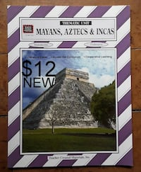 NEW Mayans Aztecs & Incas Thematic UNit * Teacher Created Materials  Martinsburg, WV, USA