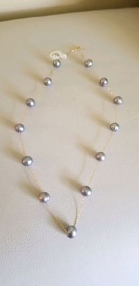 14kt gold pearls necklace  Laytonsville, 20882