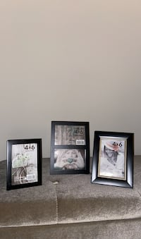 Black Photo Frames, 4x6""