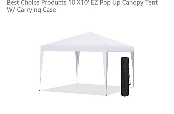 Pop Up Canopy Tent >> White Pop Up Canopy Tent