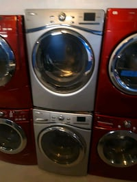 WHIRLPOOL FRONT LOAD WASHER AND DRYER SET WORKING PERFECTLY Baltimore, 21201