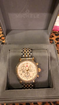 Authentic Michele Watch with Diamond bezel Manalapan, 07726