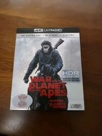 War for the Planet of the Apes 4K with Blu-ray Ottawa, K1K 4W3