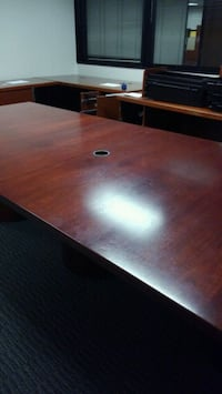 Conference table seats 12