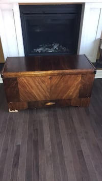 brown wooden table with drawer Kingston, K7M 5B2