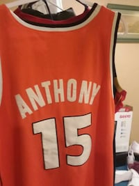 red and white Chicago Bulls 23 jersey Frederick, 21703