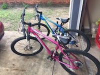 red and blue hardtail mountain bike McAllen, 78501