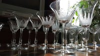 Vintage crystal wine glasses Wilmington, 28401