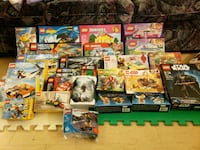 Lots of brand new in box lego, lego friends and ju Toronto, M6K 1S6
