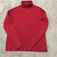 TOMMY HILFIGER Turtle Neck Red Sweater Size XL in good condition Kentwood, 49512