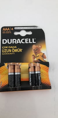 Duracell AAA/4 ince kalem pil  Yenimahalle, 06378