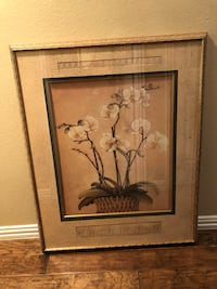 Beautiful framed picture large size Plano, 75025