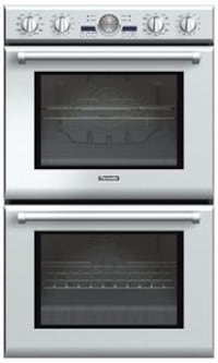 Thermador Professional Series 30 Inch Double Electric Wall Oven Garland, 75041