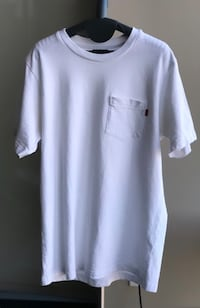 White Supreme Pocket T-shirt  Alexandria, 22312