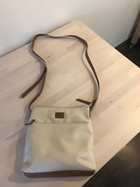 Women's white and brown sling abg 3733 km