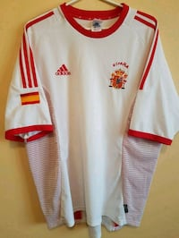 Spain Adidas Soccer Jersey Guelph