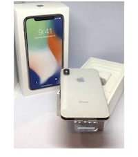 silver iPhone X with box Hoffman Estates, 60169