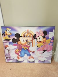 Mickey and Minnie wallhanging