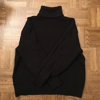 Hm Black turtle neck sweater Toronto, M4S 1G4