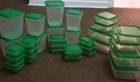 green plastic food container lot Toronto, M4H 1J3