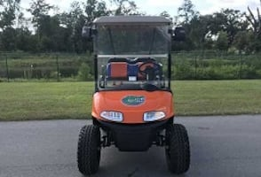 # Electric Golf Cart by E*Z-G*O Front rack storage # NICE RIDE*