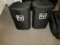 DJ PAIR OF EV ZLX12P POWERED SPEAKERS WITH COVERS Mississauga