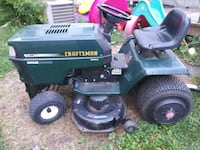 Craftsman 15.5hp 6pd riding mower 869 mi