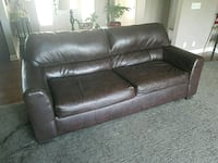 Bonded leather sofa Lincoln, 68526