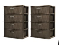 Two sterlite Drawers  Houston, 77054