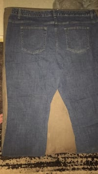 womens Bobbie Brooks dark blue denim jeans  size 24 Waterloo, 50703