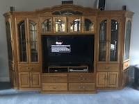 Entertainment center - 5 pieces Glenwood, 21738
