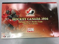 Hockey Canada 2006 Official Pin Collection  Mississauga, L5J 1J7