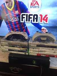 Xbox 360 + 12 games and more Wake Forest, 27587
