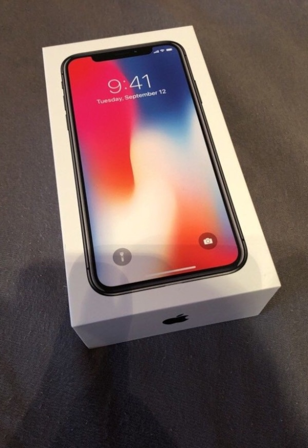 iPhone X 64gb NEU Space Gray