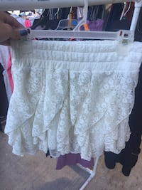 women's white floral lace skirt Lake Charles, 70601