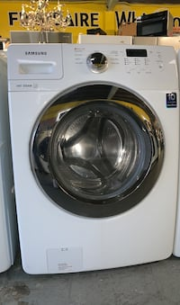 Samsung frontload steam washer