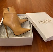 Ankle Boots High Heel