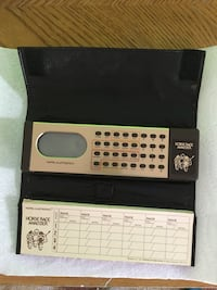 Vintage 1979 Mattel Horse Race Analyzer Reston, 20191