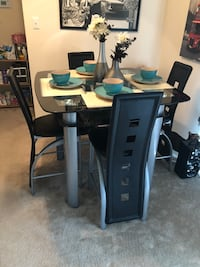 Black and gray dinning room table Fort Washington, 20744