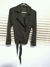 black double breasted coat Newmarket, L3Y 4M7