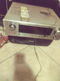 Denon receiver / amplifier .Great quality inn product we're tuning put