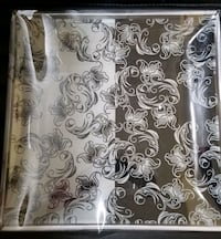 Square Glass Plate with Server in box! Brand New!