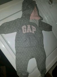 0-3m baby gap outfit, GUC light pink and grey Guelph, N1E 7A4