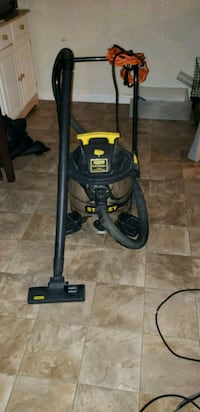 black and yellow canister vacuum cleaner Edmonton, T6J 3N6