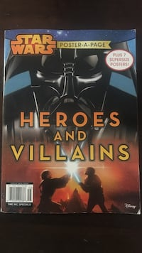 Star Wars Poster-A-Page Heroes and Villains Marina Del Rey, 90292