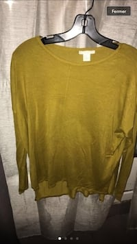 boule jaune Pull col Troyes, 10000
