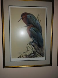 """Art Lamay """"Little Sapphires"""" signed and numbered print."""